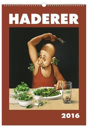 Haderer Kalender 2016 von Haderer,  Gerhard