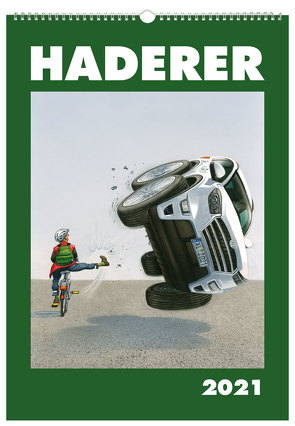 Haderer Kalender 2021 von Haderer,  Gerhard