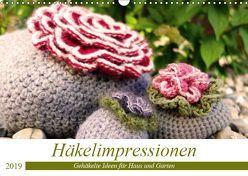 Häkelimpressionen – Gehäkelte Ideen für Haus und Garten (Wandkalender 2019 DIN A3 quer) von Przewlocki,  Inge