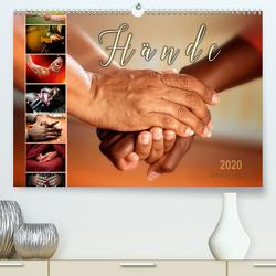 Hände (Premium, hochwertiger DIN A2 Wandkalender 2020, Kunstdruck in Hochglanz) von Roder,  Peter