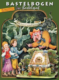 Hänsel und Gretel im Märchenwald Bastelbogen von Völtzke,  Kurt