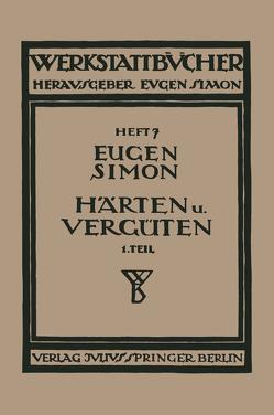 Härten und Vergüten von Simon,  Eugen