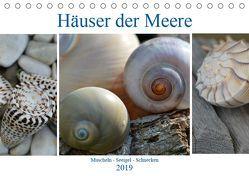 Häuser der Meere: Muscheln – Seeigel – Schnecken (Tischkalender 2019 DIN A5 quer) von Grobelny,  Renate