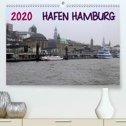 Hafen Hamburg 2020 (Premium, hochwertiger DIN A2 Wandkalender 2020, Kunstdruck in Hochglanz) von Dorn,  Markus