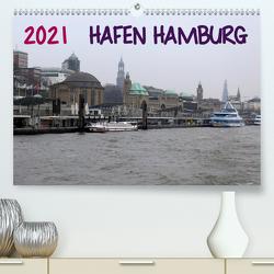 Hafen Hamburg 2021 (Premium, hochwertiger DIN A2 Wandkalender 2021, Kunstdruck in Hochglanz) von Dorn,  Markus