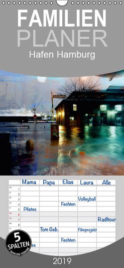 Hafen Hamburg – Familienplaner hoch (Wandkalender 2019 , 21 cm x 45 cm, hoch) von URSfoto