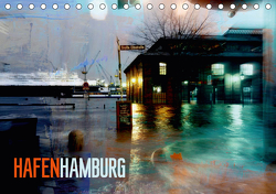 Hafen Hamburg (Tischkalender 2021 DIN A5 quer) von URSfoto