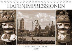 Hafen – Impressionen Hansestadt Wismar (Tischkalender 2019 DIN A5 quer)