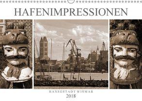 Hafen – Impressionen Hansestadt Wismar (Wandkalender 2018 DIN A3 quer) von Felix,  Holger