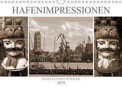 Hafen – Impressionen Hansestadt Wismar (Wandkalender 2019 DIN A4 quer)