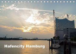 Hafencity Hamburg – die Perspektive (Tischkalender 2019 DIN A5 quer) von Kaum,  Eberhard