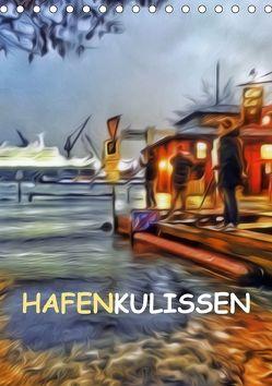 Hafenkulissen (Tischkalender 2018 DIN A5 hoch) von URSfoto