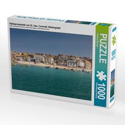 Hafenpromenade von St. Ives, Cornwall, Südengland 1000 Teile Puzzle quer von Mueringer,  Christian