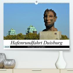 Hafenrundfahrt Duisburg (Premium, hochwertiger DIN A2 Wandkalender 2020, Kunstdruck in Hochglanz) von Grobelny,  Renate