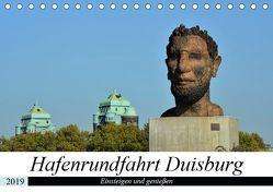 Hafenrundfahrt Duisburg (Tischkalender 2019 DIN A5 quer) von Grobelny,  Renate