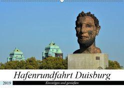 Hafenrundfahrt Duisburg (Wandkalender 2019 DIN A2 quer) von Grobelny,  Renate