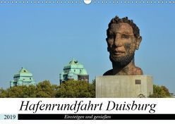 Hafenrundfahrt Duisburg (Wandkalender 2019 DIN A3 quer) von Grobelny,  Renate