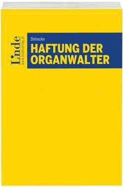 Haftung der Organwalter von Steinacker,  Christoph