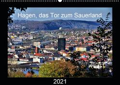 Hagen, das Tor zum Sauerland (Wandkalender 2021 DIN A2 quer) von Reschke,  Uwe
