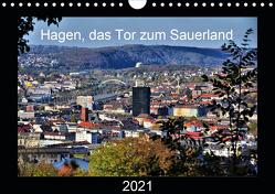 Hagen, das Tor zum Sauerland (Wandkalender 2021 DIN A4 quer) von Reschke,  Uwe