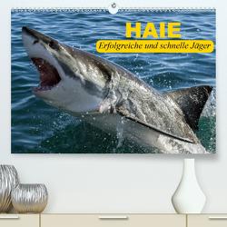 Haie. Erfolgreiche und schnelle Jäger (Premium, hochwertiger DIN A2 Wandkalender 2021, Kunstdruck in Hochglanz) von Stanzer,  Elisabeth