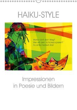 Haiku-Style (Wandkalender 2018 DIN A3 hoch) von Niewöhner,  Clemens