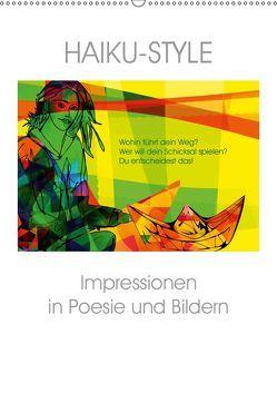 Haiku-Style (Wandkalender 2019 DIN A2 hoch) von Niewöhner,  Clemens
