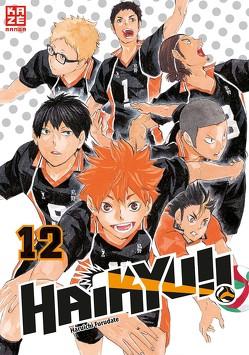 Haikyu!! 12 von Furudate,  Haruichi, Tabuchi,  Etsuko, Weitschies,  Florian