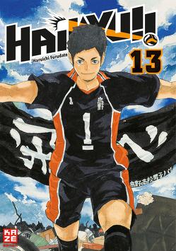 Haikyu!! 13 von Furudate,  Haruichi, Tabuchi,  Etsuko, Weitschies,  Florian
