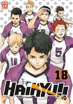 Haikyu!! – Band 18 von Furudate,  Haruichi, Tabuchi,  Etsuko und Florian Weitschies