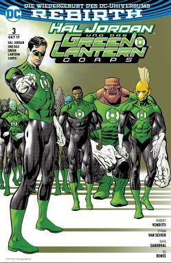 Hal Jordan und das Green Lantern Corps von Benes,  Ed, Heiss,  Christian, Sandoval,  Rafa, van Sciver,  Ethan, Venditti,  Robert