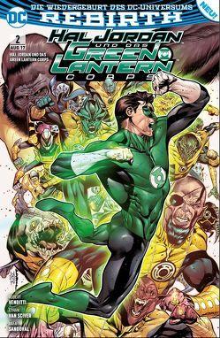 Hal Jordan und das Green Lantern Corps von Heiss,  Christian, Sandoval,  Rafa, van Sciver,  Ethan, Venditti,  Robert