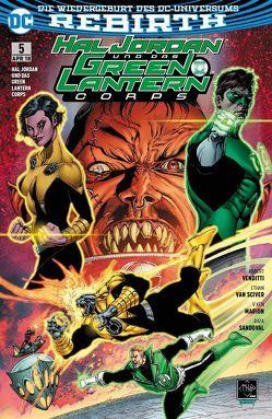 Hal Jordan und das Green Lantern Corps von Heiss,  Christian, Marion,  V. Ken, Sandoval,  Rafa, van Sciver,  Ethan, Venditti,  Robert