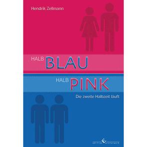 Halb Blau, Halb Pink von Zellmann,  Hendrik