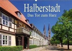 Halberstadt – Das Tor zum Harz (Wandkalender 2018 DIN A2 quer) von LianeM,  k.A.
