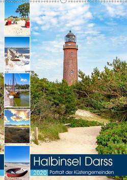 Halbinsel Darss, Portrait der Küstengemeinden (Wandkalender 2020 DIN A2 hoch) von Dreegmeyer,  Andrea