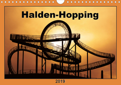 Halden-Hopping (Wandkalender 2019 DIN A4 quer) von Grau,  Anke