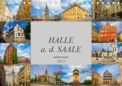 Halle a. d. Saale Impressionen (Tischkalender 2019 DIN A5 quer) von Meutzner,  Dirk