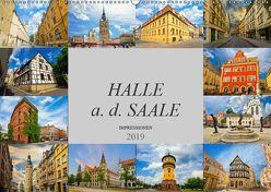 Halle a. d. Saale Impressionen (Wandkalender 2019 DIN A2 quer) von Meutzner,  Dirk
