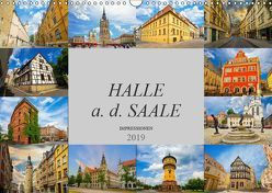 Halle a. d. Saale Impressionen (Wandkalender 2019 DIN A3 quer) von Meutzner,  Dirk
