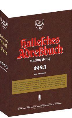 HALLE – Hallesches Adreßbuch 1943 von Rockstuhl,  Harald