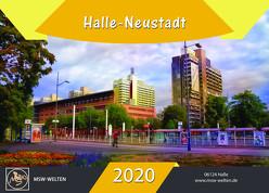 Halle-Neustadt Kalender 2020 von Waldow,  Michael