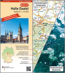 Halle (Saale) von BKG - Bundesamt für Kartographie und Geodäsie