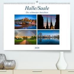 Halle/Saale – Die schönsten Ansichten (Premium, hochwertiger DIN A2 Wandkalender 2020, Kunstdruck in Hochglanz) von Wasilewski,  Martin