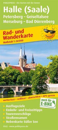 Halle (Saale) – Petersberg – Geiseltalsee – Merseburg – Bad Dürrenberg