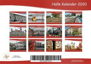 Hallekalender 2020 von Waldow,  Michael