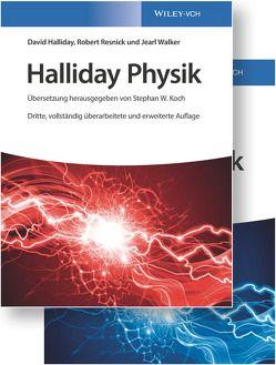 Halliday Physik Deluxe von Bär,  Michael, Delbrück,  Matthias, Halliday,  David, Koch,  Stephan W., Resnick,  Robert, Walker,  Jearl