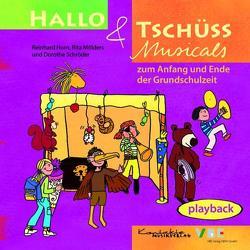 Hallo & Tschüss Musicals von Horn,  Reinhard, Kontakte Musikverlag, Mölders,  Rita, Schröder,  Dorothe
