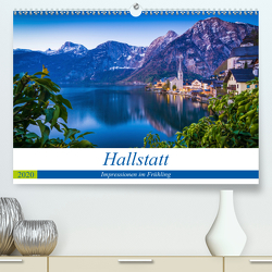 Hallstatt – Impressionen im FrühlingAT-Version (Premium, hochwertiger DIN A2 Wandkalender 2020, Kunstdruck in Hochglanz) von Wasilewski,  Martin