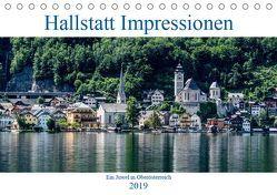 Hallstatt Impressionen (Tischkalender 2019 DIN A5 quer) von Nahodil,  Reinhard